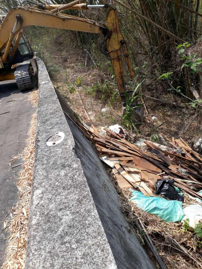 廢棄物偷倒成為近年來嚴重問題