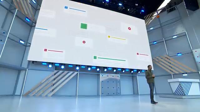 Google I/O 2018與會上,人工智慧(AI)成重點技術,各項Google應用都被AI驅動著前進,包含新手機系統Android P。(圖/取自YouTube)