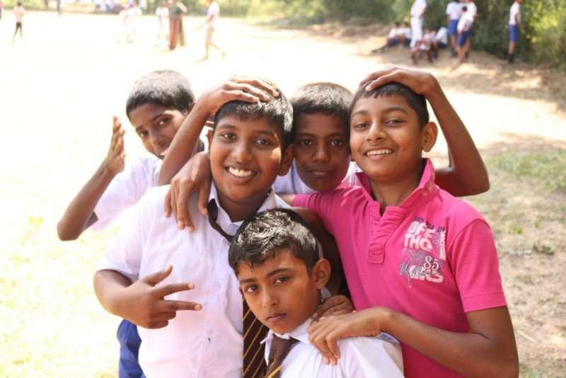 一張張真心的笑容是斯里蘭卡最難忘的美景。(圖/女子學提供)