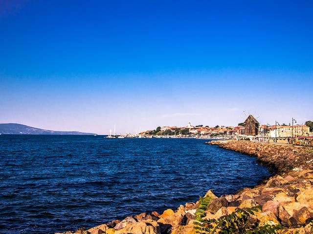 有「黑海明珠」之稱的內塞巴爾(Nesebar)是座美麗的千年小鎮。(圖/女子學提供)