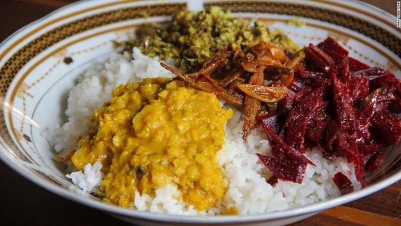 斯里蘭卡道地的黃咖哩是餐桌上經常出現的美食。(圖/女子學提供)