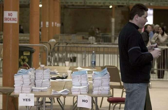 愛爾蘭即將在5月25日針對反墮胎禁令舉行公投。(AP)