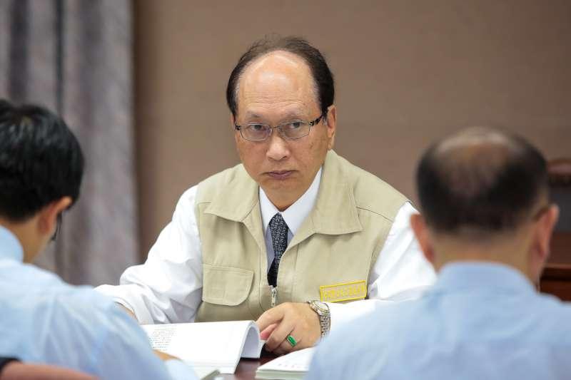 20180510-公共工程委員會主委吳澤成10日出席立院交通委員會。(顏麟宇攝)