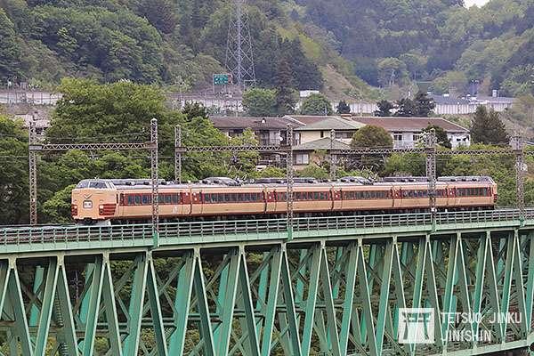 2018年4月27日,隸屬JR東日本的189系M51編成國鐵特急色電聯車,在開往長野後即功成身退,60年歷史的國鐵特急色,就此消失。(圖/想想論壇提供)
