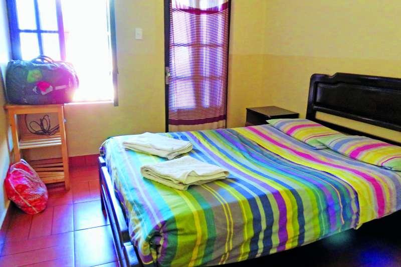 玻利維亞一晚二十美金的套房,簡單但乾淨。(圖/山岳出版提供)