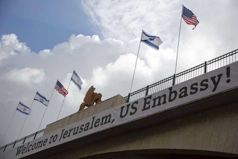 以色列建國70周年:美國大使館搬到耶路撒冷當賀禮(AP)