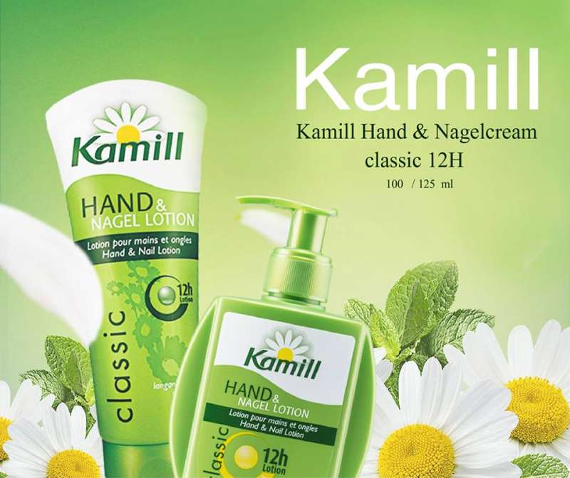 德國百年品牌小花護手霜,長期在乾燥機艙工作的空姐最愛用(圖片來源:Kamill Taiwan粉絲團)