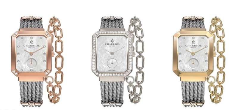 ST-TROPEZ™ Mansart腕錶系列。(圖/夏利豪提供)