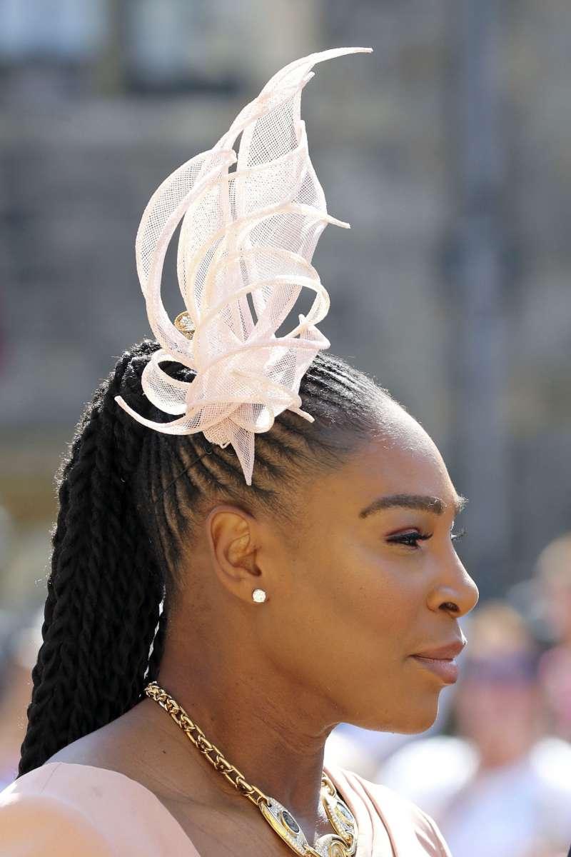 美國網球女將小威廉斯受邀參加王室婚禮。(美聯社)