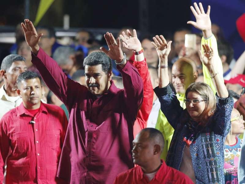 2018年委內瑞拉總統大選結果出爐,現任總統馬杜洛連任成功(AP)