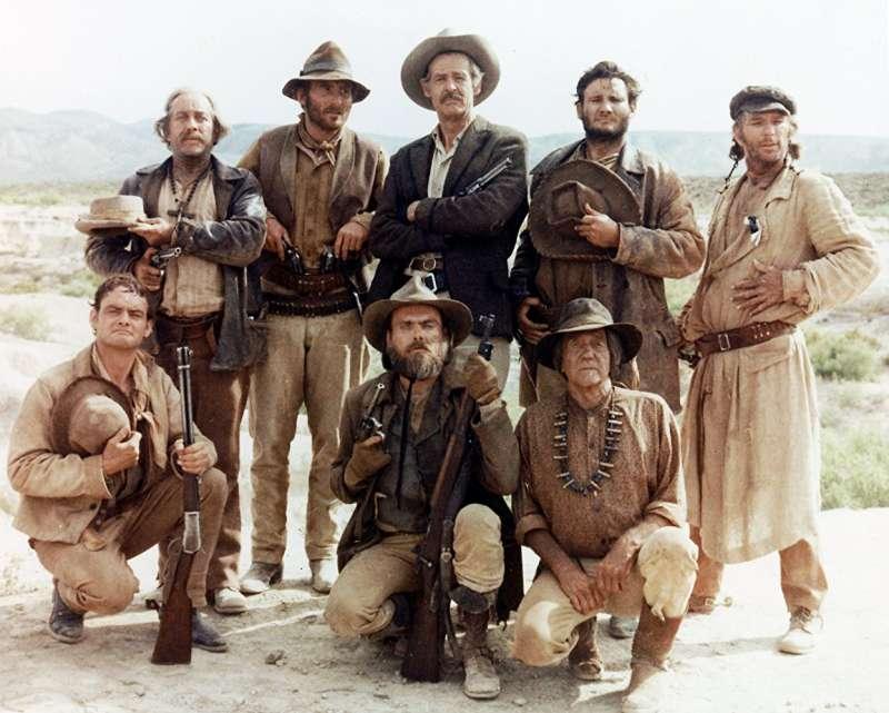 《日落黃沙》(The Wild Bunch)劇照。(圖/取自 IMDB)