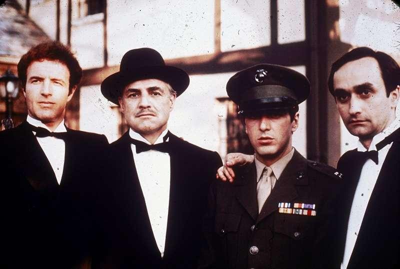 《教父》(The Godfather)劇照。(圖/取自 IMDB)