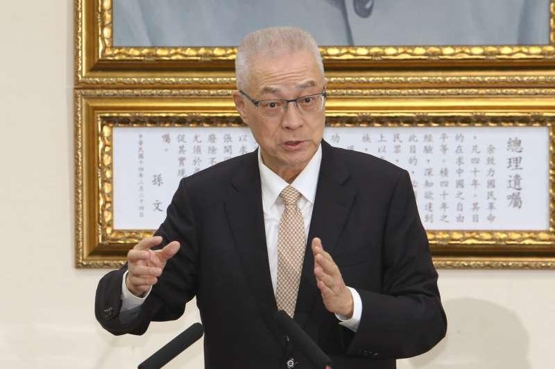 20180522-國民黨主席吳敦義。(陳明仁攝)