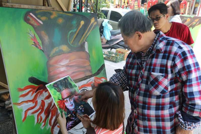 手繪研習營很受歡迎。〈圖/張榮祥攝影,文化+提供〉