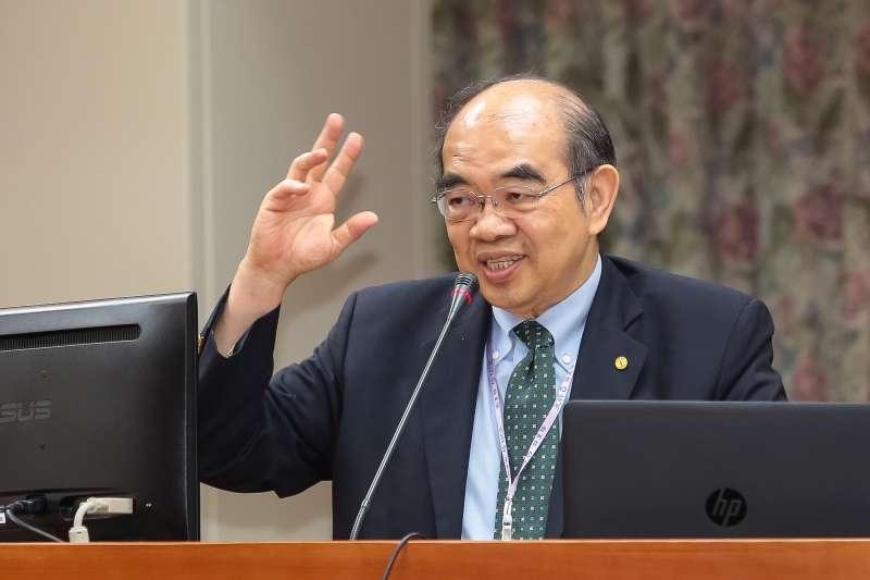 20180524-教育部長吳茂昆24日於教育委員會備詢。(顏麟宇攝)