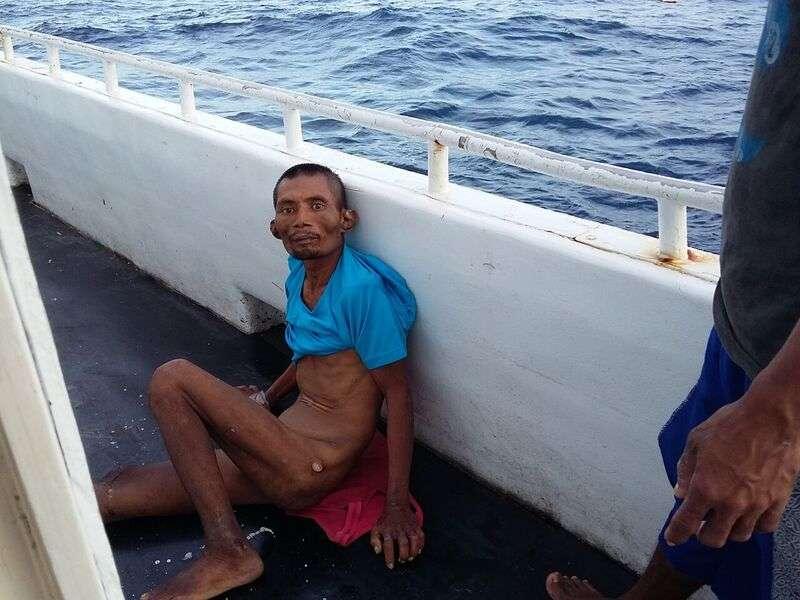 福賜號漁工Supriyanto死亡事件。Supriyanto同船漁工曾錄下其生前3段遭虐影片。(綠色和平提供)