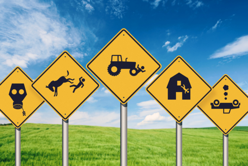 在美國,當農夫是危險性相當高的一份工作。(圖/截自 The Agenda,智慧機器人網提供)