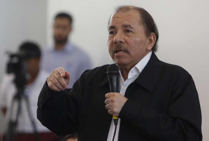 尼加拉瓜總統奧迪嘉(AP)