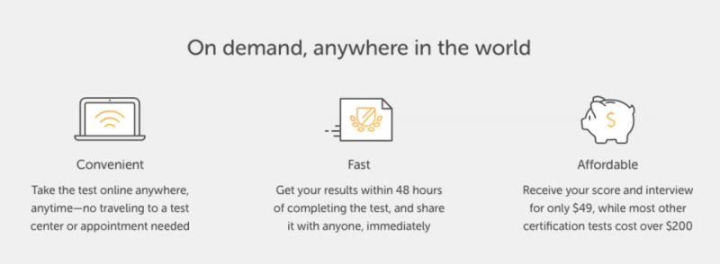 免費、方便、快速是 Duolingo 的學習原則。(圖/截自duolingo,數位時代提供)