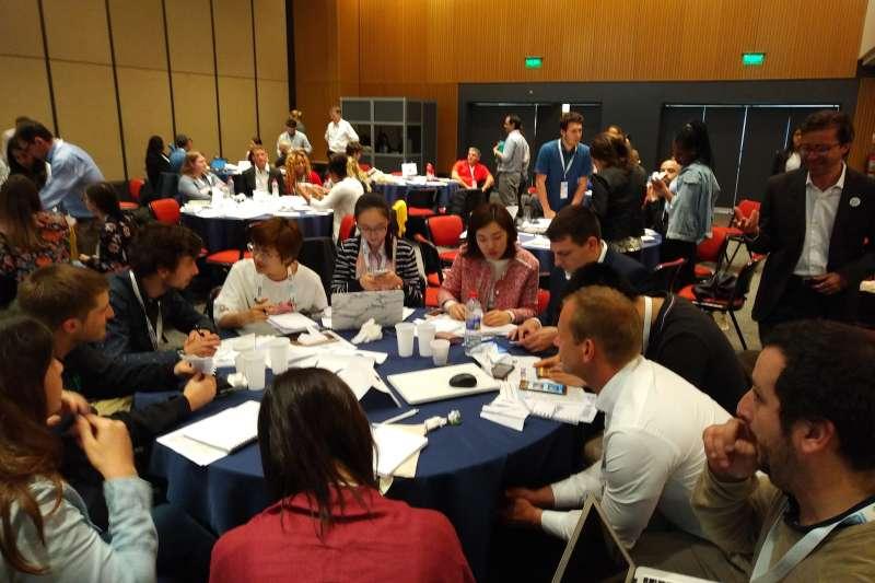 會議期間將舉行國際學生創業營隊、Slush GIA創業競賽,產學交流形式多元。(圖/ICSB-R.O.C提供)
