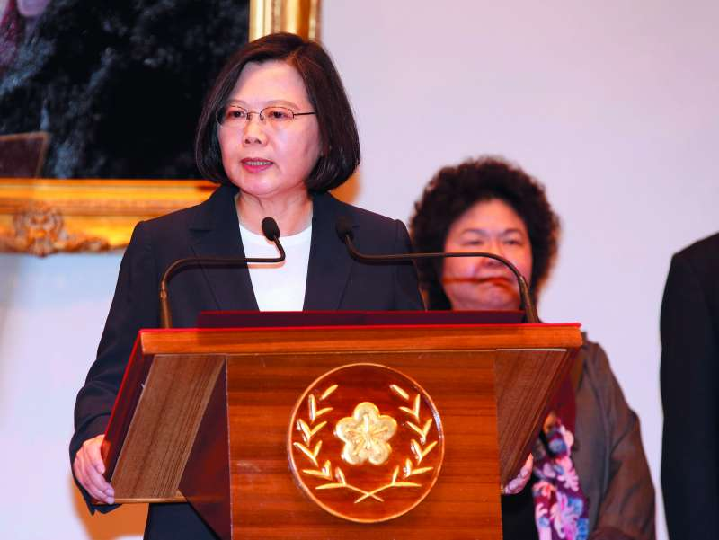 中國不斷給蔡英文政府壓力,就是要製造台灣內部分歧。(郭晉瑋攝)