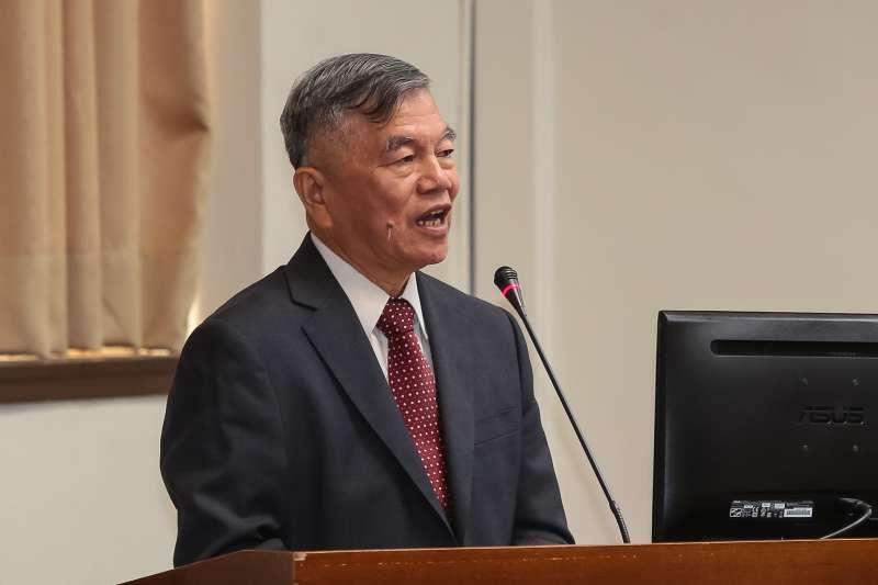 20180531-經濟部長沈榮津31日於經濟委員會備詢。(顏麟宇攝)