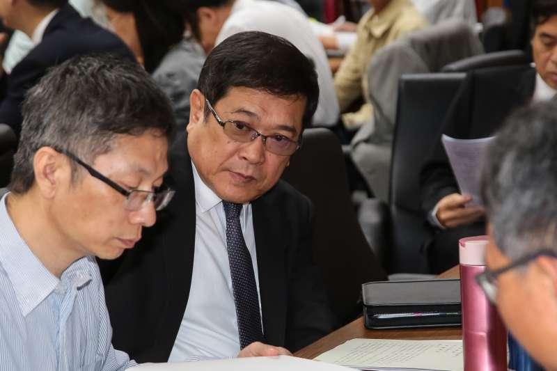 20180531-台電董事長楊偉甫31日出席經濟委員會。(顏麟宇攝)