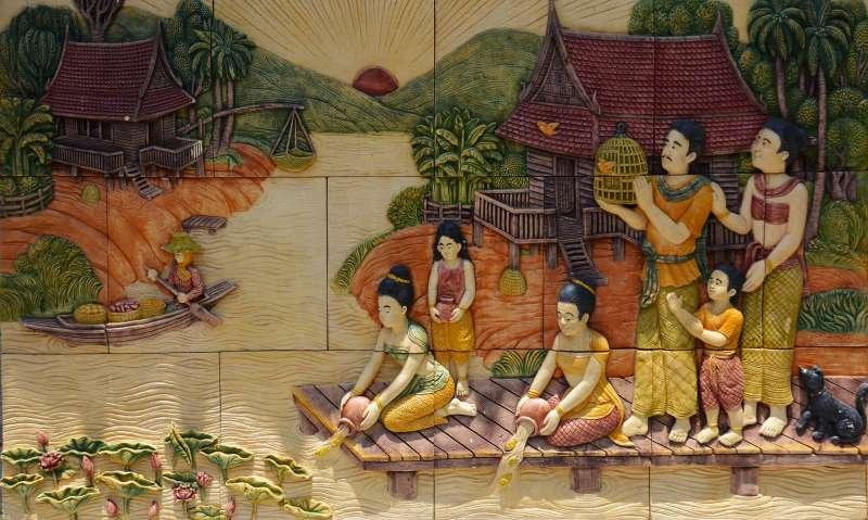 在古代泰國,女性擁有較高的地位(取自Pixabay)