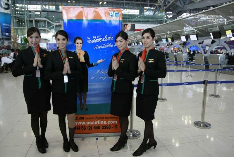 泰國「PC Air」僱用跨性別人士擔任空服員(AP)