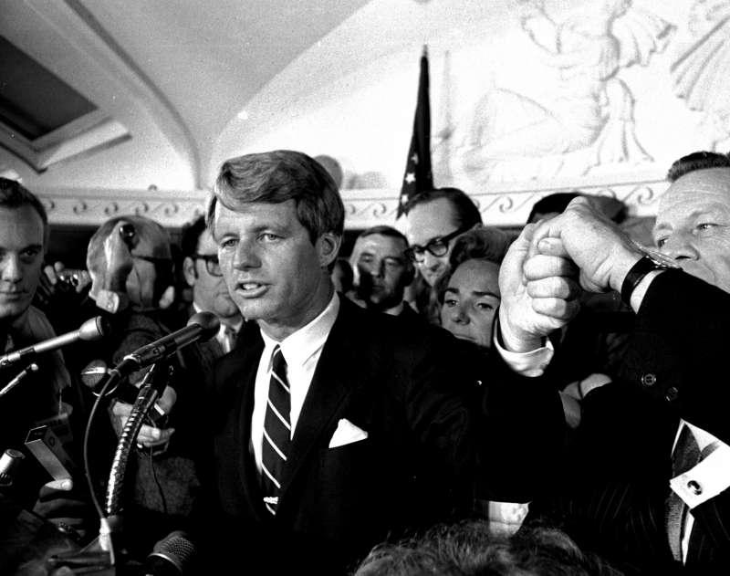 羅伯.甘迺迪,1968年總統選戰(AP)