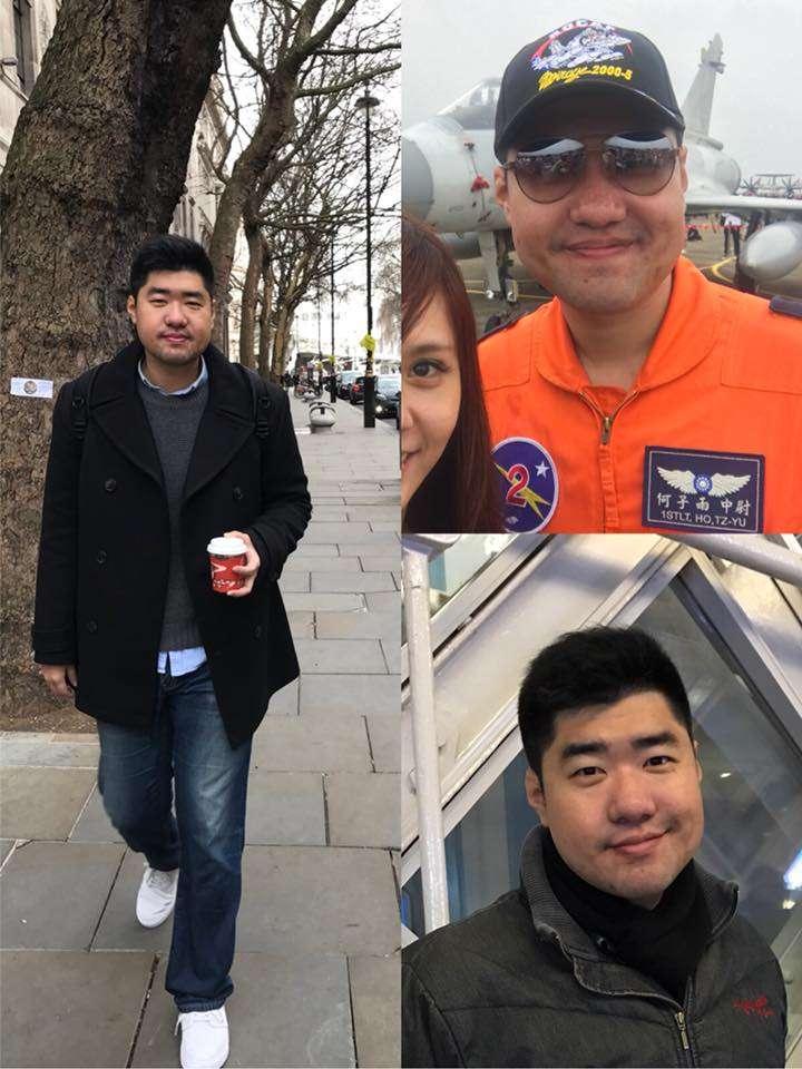 20180605_幻象失聯飛官何子雨。 (翻攝張家涵臉書)