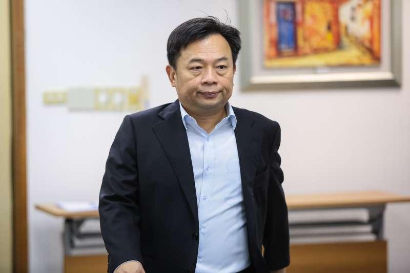 20180606-民進黨選對會召集人林錫耀6日出席民進黨中常會。(顏麟宇攝)