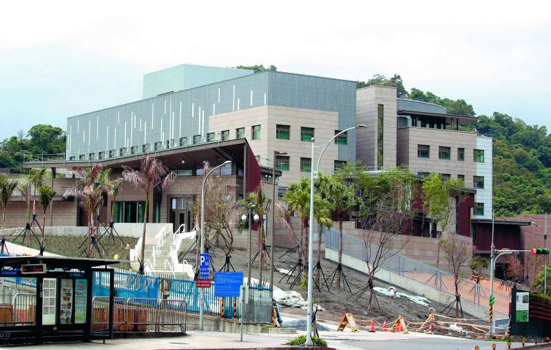 AIT內湖新館美國會派誰來揭幕,北京恐怕相當緊張。(郭晉瑋攝)