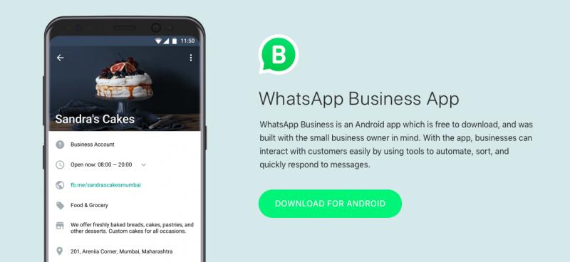 WhatsApp於去年正式上線企業對客戶溝通服務,是他們首度推出的獲利模式。(圖/WhatsApp)