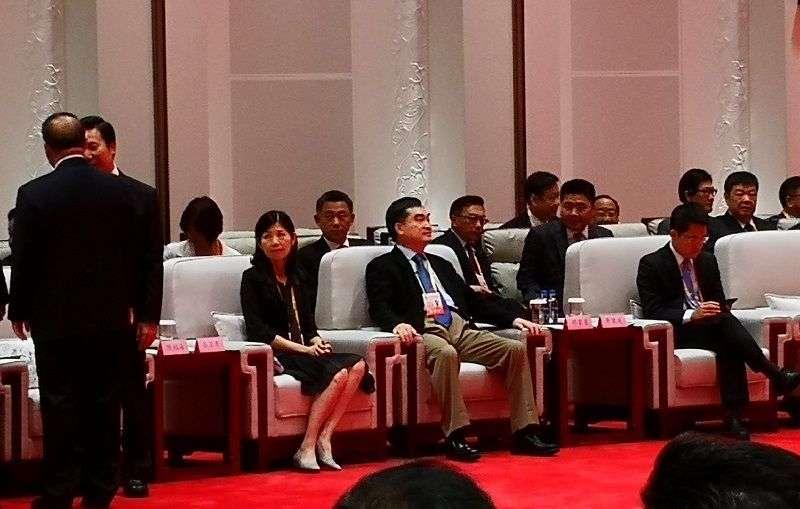 台北市副市長鄧家基參加海峽論壇。(王偉力提供)