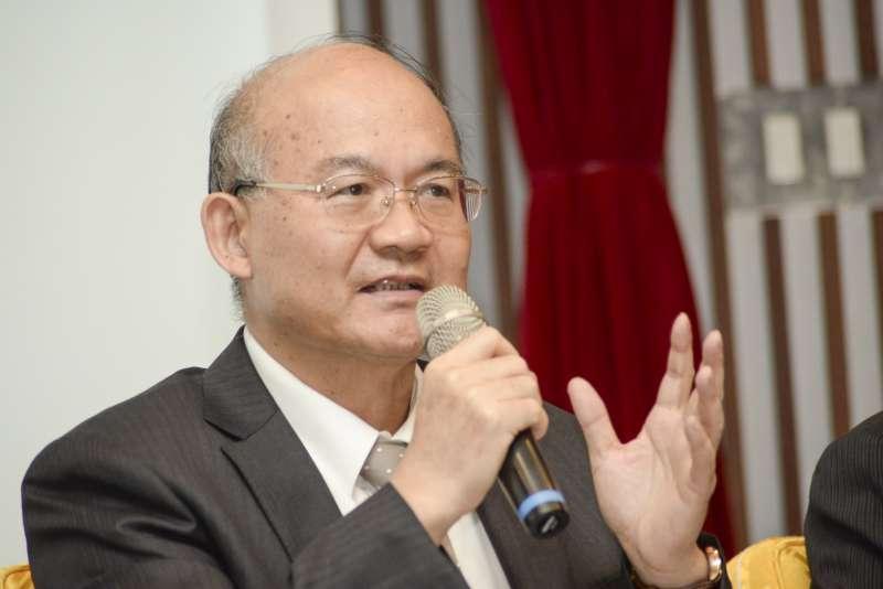 20180611-政大校長遴選公聽會,政大副校長張昌吉。(甘岱民攝)