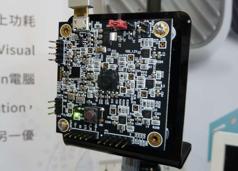 難以被具象化可能是奇景光電推展人臉辨識晶片的一個挑戰,而啟雲科技或許可以是這項技術的出海口。(圖/何佩珊 攝,數位時代提供)