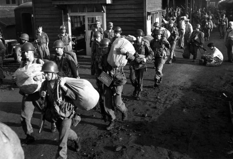 韓戰,美軍,1950年7月(AP)