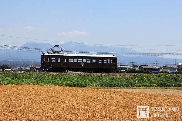 已有90年歷史的デハ101號電車,至今依然老當益壯,成為鐵道迷熱衷追尋的目標。(圖/陳威臣攝影|想想論壇提供)
