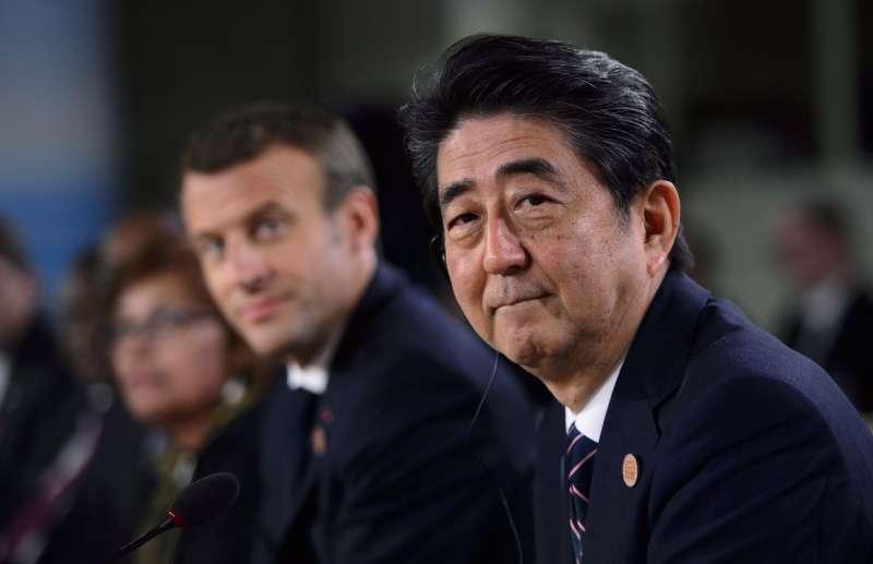 2018年6月,日本首相安倍晉三參加G7領導人峰會(AP)