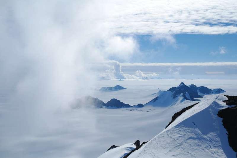 南極冰層消融危機。(AP)