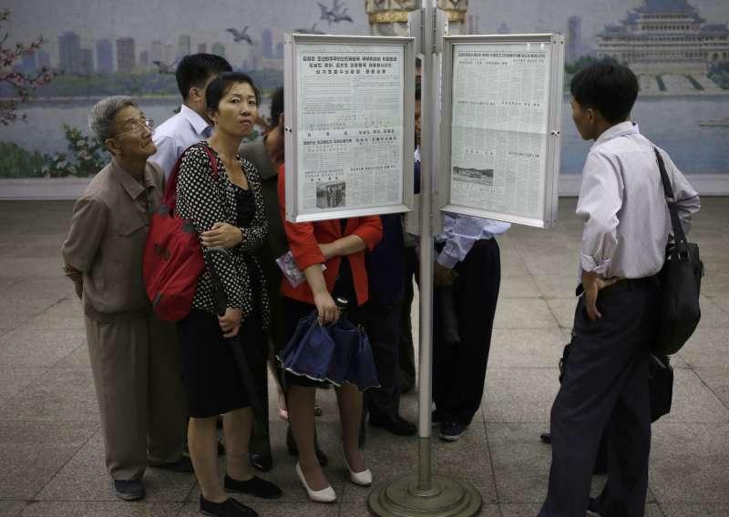 川金會,北韓民眾反應,平壤街頭,北韓社會(AP)