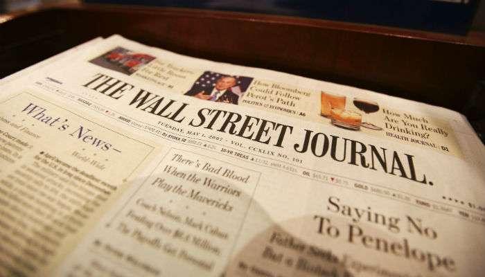 《華爾街日報》深受美國民眾信任(美聯社)