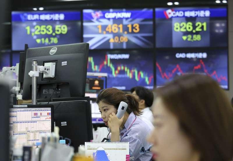 南韓,金融市場,勞工(AP)