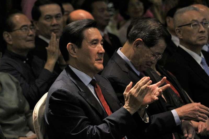20180619-前總通馬英九出席國民黨前主席吳伯雄八十大壽感恩餐會。(陳韡誌攝)