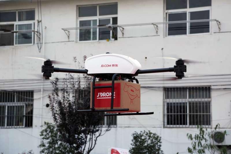 京東計畫下半年開始要在印尼啟用無人機送貨。(圖/取自京東,數位時代提供)