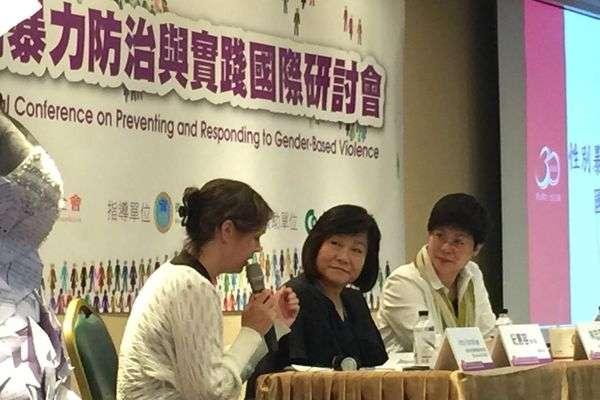 勵馨基金會主辦「性別暴力防治與實踐國際研討會」(圖/想想論壇提供)
