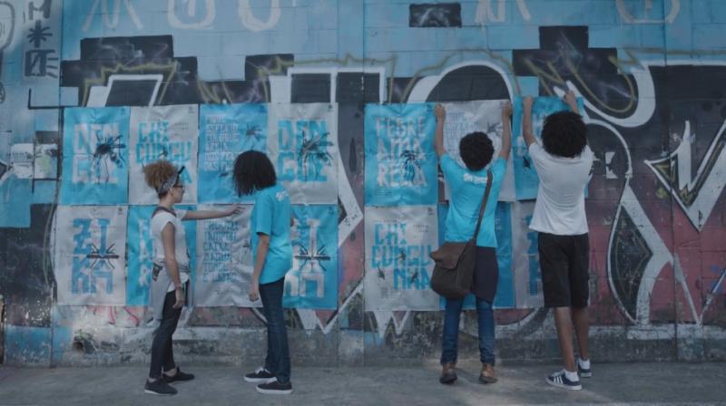 該廣告同時能教育民眾蚊子危害的相關知識,未來也預計推廣到其他溼熱多雨的國家,一同對抗蚊子。(圖/取自Vimeo)