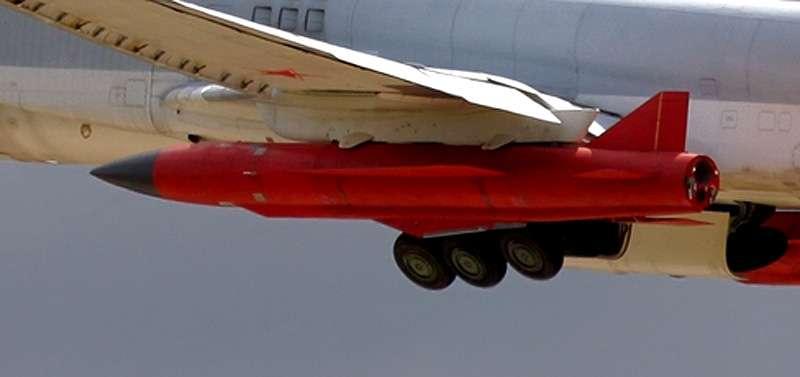 裝載於圖-22M3的Kh-32飛彈。