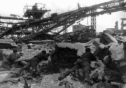 史達林格勒戰役期間的作戰情形。(維基百科公有領域)